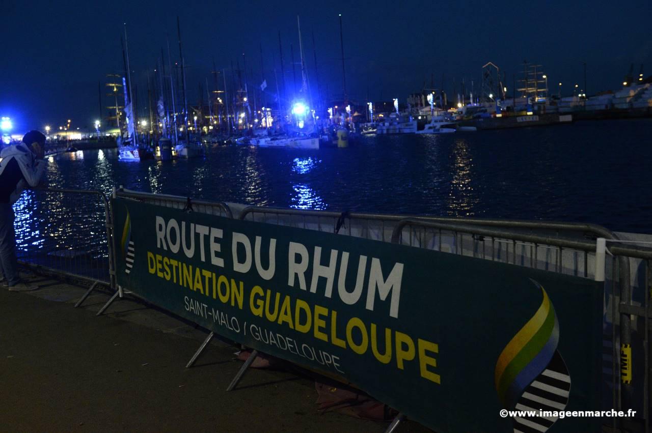 Illustration de Départ de la Route du Rhum-Destination Guadeloupe 2014 , 1036951667