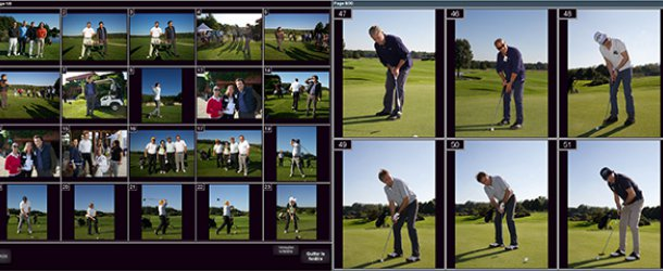Illustration de Solution d'impression photos au Format 13x18 lors d'un tournoi de Golf, 727052315