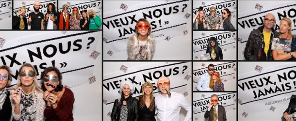 Illustration de Animation photobox party photocall vernissage de l'exposition Damart , 227633907