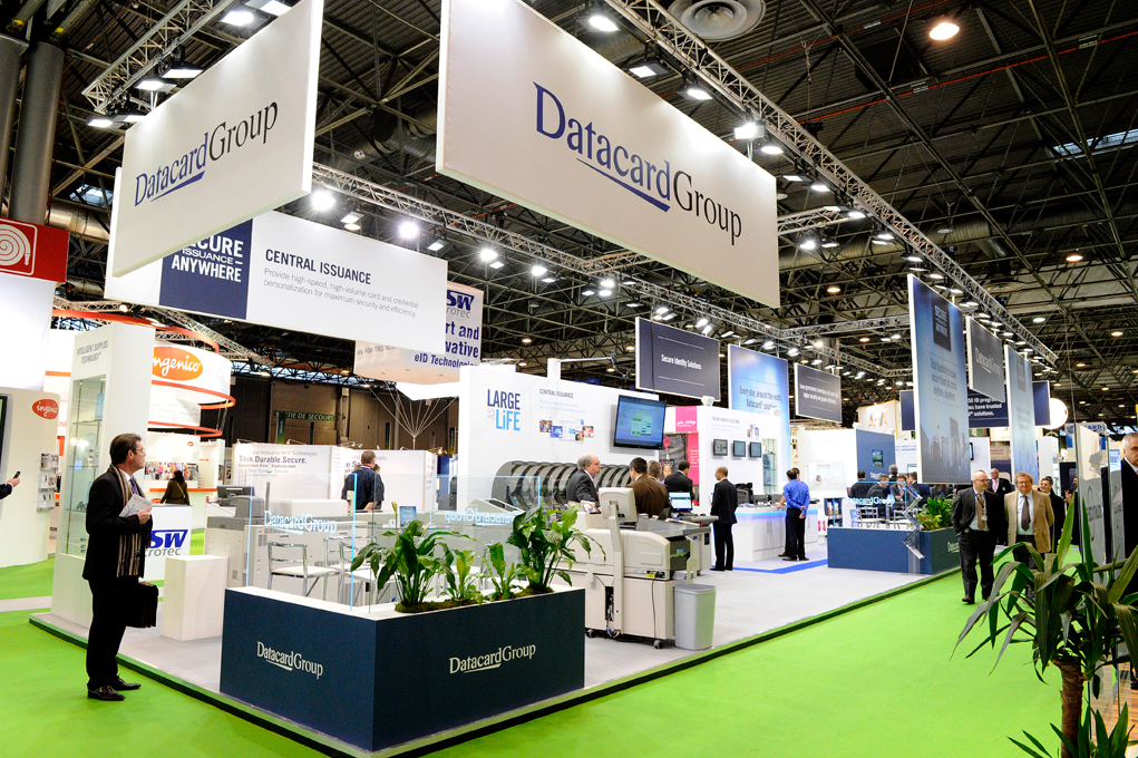 Reportage photos stand datacardgroup l 39 image en marche for Salon de villepinte