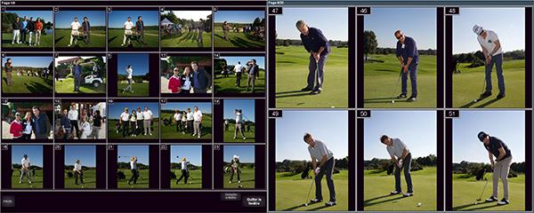 Illustration de Solution d'impression photos au Format 13x18 lors d'un tournoi de Golf, 727052315