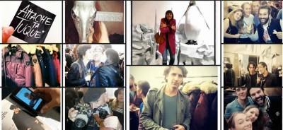 Impression via # Hashtag Instagram lors de l'ouverture du premier magasin Nobis à paris