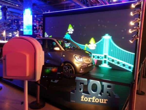 photobooth smart Mercedes-Benz