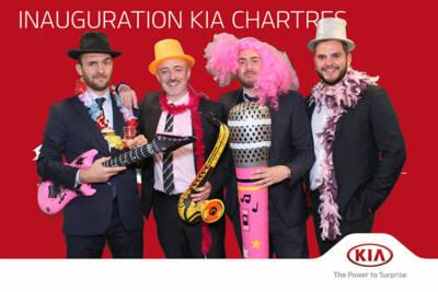 Photobooth Fond Vert KIA