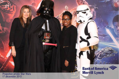 Photobooth photocall Star Wars