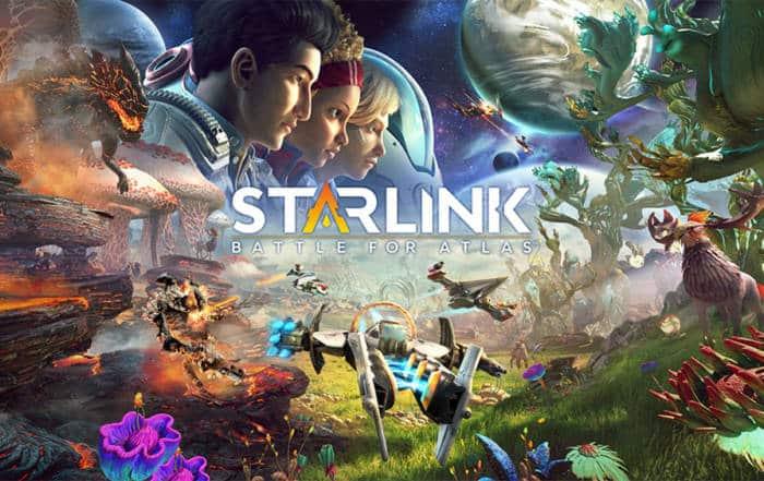 NEW PS4 Starlink Battle for Atlas + NFC Figures Bundle
