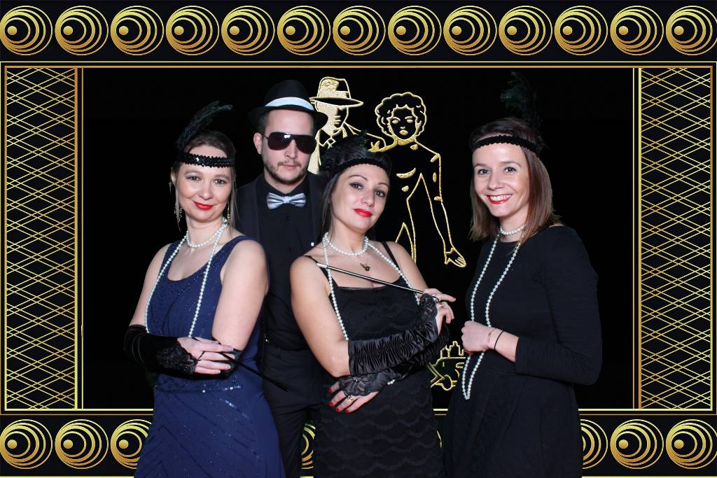 The Roaring Twenties - animation photobooth années folles (2)