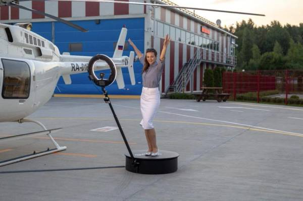 Photobooth rotatif 360° Slow Motion