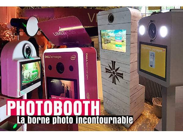 Photobooth Fond vert