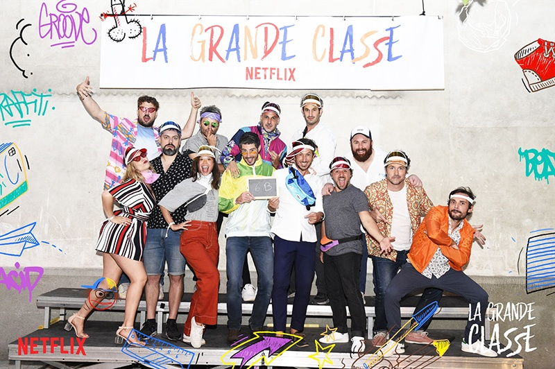 @Netflex Lancement film La Grande Classe
